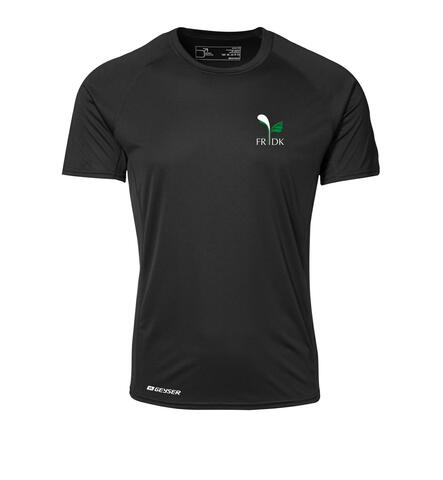 Sports t-shirt  Herre sort